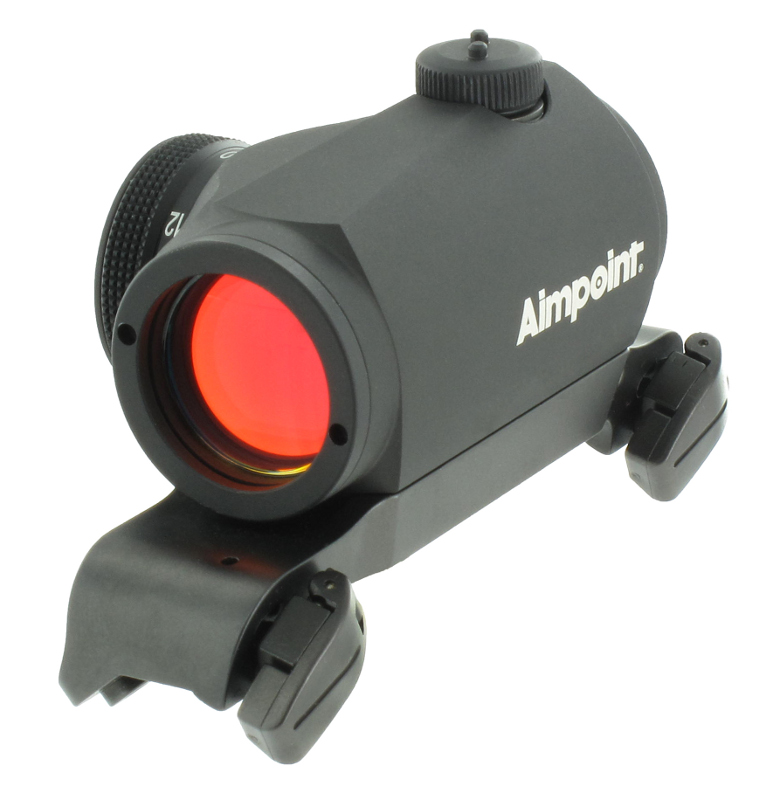 Aimpoint Micro H1 med Blaser Sadelmontage