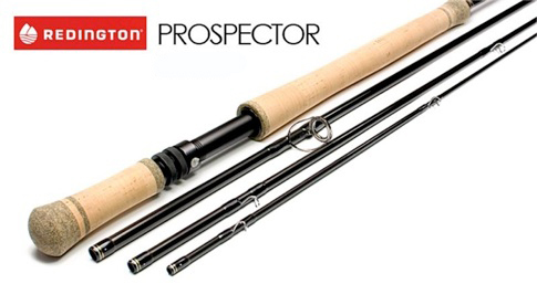 Redington Prospector Rod Med Tub 4pcs, #6 12'6 4pcs