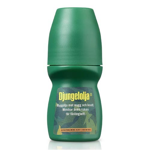 Djungelolja Myggmedel Roll-On 60ml