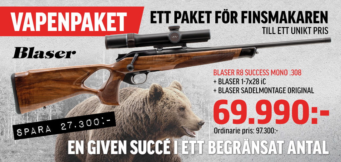 Blaser R8 Succes Trä ink optik