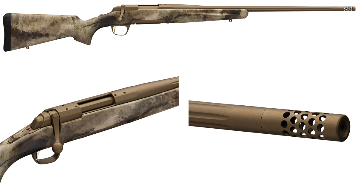 Browning X-Bolt cerracote paketerbjudande!