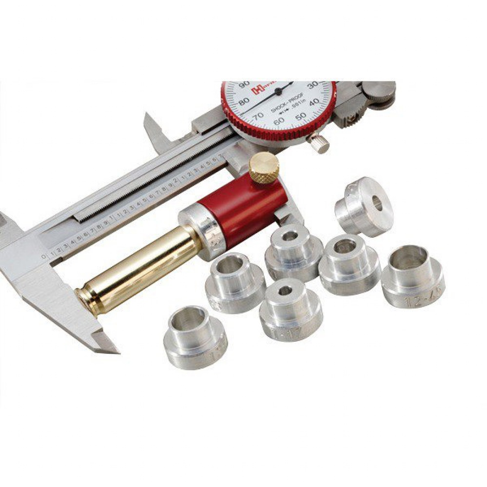 HORNADY BULLET COMPARATOR, LOCK-N-LOAD® BODY W/SET OF 6 INSERTS
