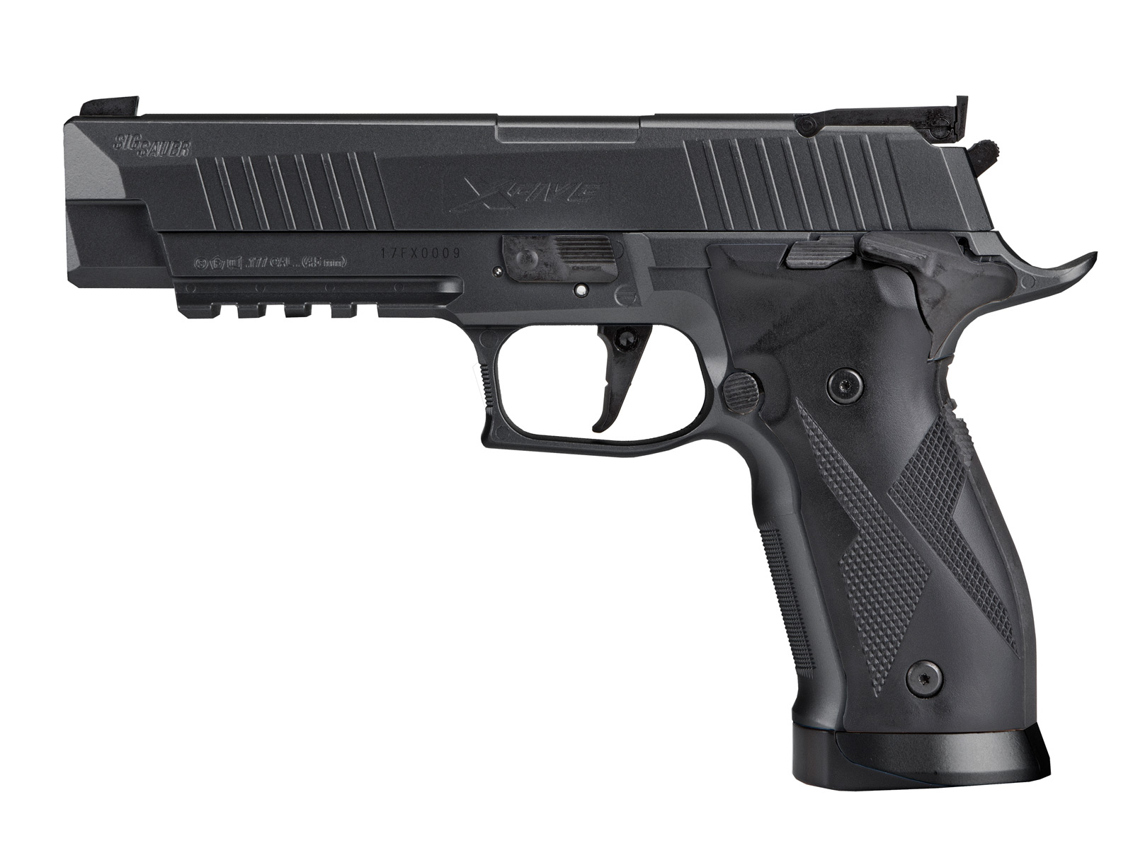 SIG SAUER X-FIVE ASP 4,5MM, BLACK
