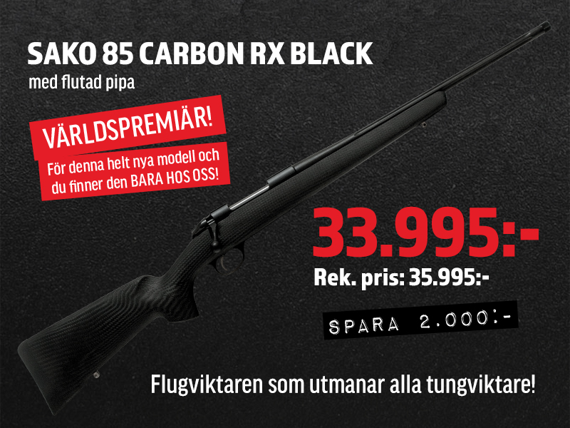 Sako 85 Carbon RX Black 308 win