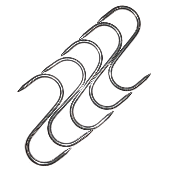 Slaktkrok, 60/3 mm 5-pack